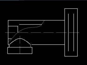 CAD中两条平行线直接的倒角如何绘制?