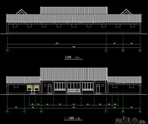 一套非常经典的北京单层四合院平房改造参考图纸