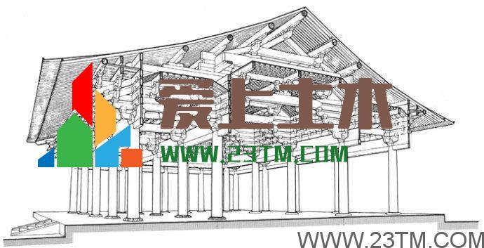 建筑学、土木工程专业必学的课程《中国建筑史》电子书免费下载