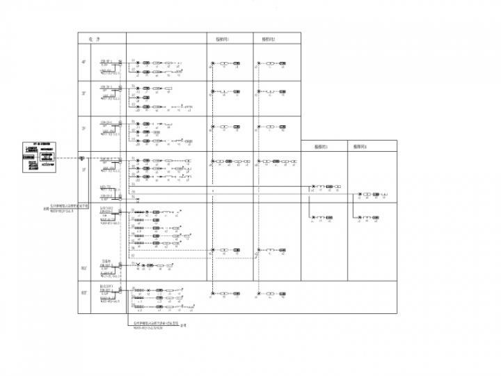 [一键下载]10套医院建筑电气施工图合集-[重庆]医院门急诊综合楼电气图纸(2020.9)-8消防应急照明和疏散指示系统图_副本