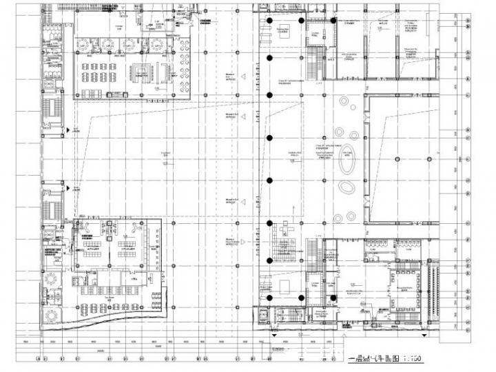 美术馆厨房燃气平面图设计2019_2