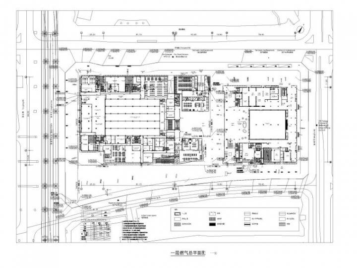 美术馆厨房燃气平面图设计2019_1